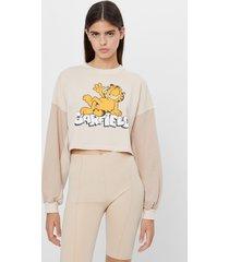garfield & bershka sweater