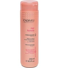 condicionador cadiveu professional hair remedy 250ml