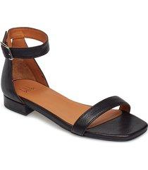 sandals 8715 shoes summer shoes flat sandals svart billi bi