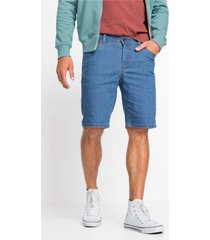 duurzame jeans bermuda met gerecycled polyester