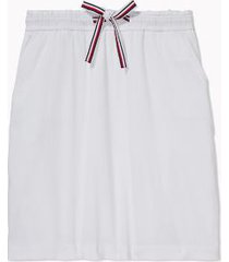 tommy hilfiger women's adaptive solid skirt bright white - m