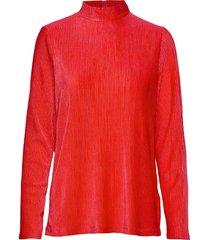 bytally pullover - blus långärmad röd b.young