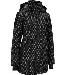 giacca tecnica lunga con riflettenti (nero) - bpc bonprix collection