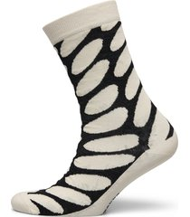 salla linssi socks lingerie socks regular socks creme marimekko