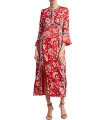 smyth floral midi dress