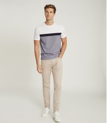 reiss kalkan - five pocket slim fit pants in, mens, size 38