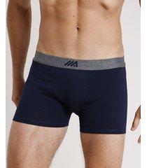 cueca masculina ace boxer azul marinho