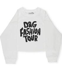dolce & gabbana dg fashion tour sweatshirt