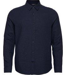 light flannel slim shirt overhemd casual blauw j. lindeberg