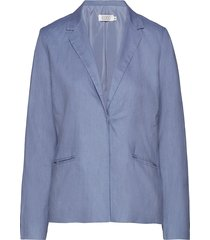 jasmin jacket blazer kavaj blå masai