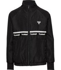 hmltarp zip jacket sweat-shirt trui zwart hummel