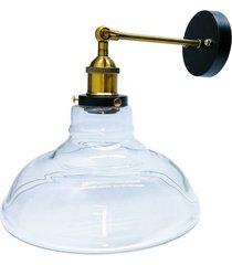 28cm post moderna lámpara de pared de hierro sucursal modo lámpara lámpara sombrero de paja clara l