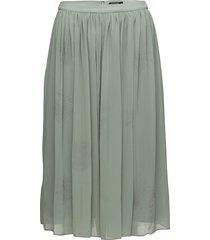 elviz knälång kjol grön tiger of sweden