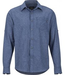 camisa aerobora ls azul marmot