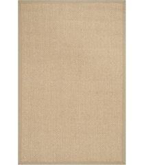 safavieh natural fiber maize and linen 2' x 3' sisal weave area rug