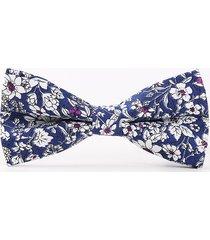 cravatta in cotone degli uomini stampa bowtie casual cravatte di arco del partito di nozze cravatte regolabili
