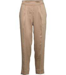 orion mw trousers pantalon met rechte pijpen beige second female