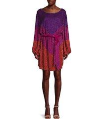 grace colorblock sweater dress
