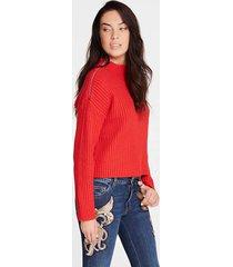 sweter marciano z suwakami na ramionach