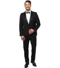 traje formal negro arrow