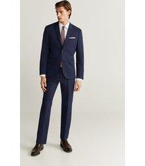 stretch katoenen slim-fit tailored overhemd