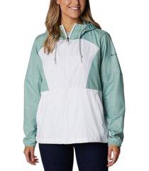 columbia side hill windbreaker jacket