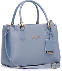 bolsa dhaffy bolsas baú azul
