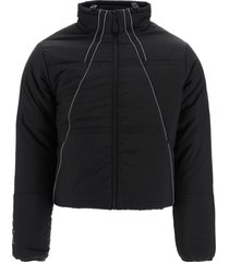 a-cold-wall padded jacket with reflective piping