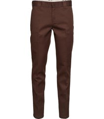slim fit work pant chinos byxor brun dickies