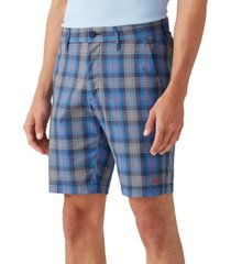 tommy bahama men's putter there plaid shorts