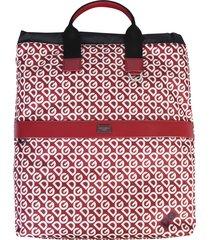 dolce & gabbana dg logo printed backpack