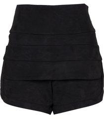 shorts le lis blanc polly i preto feminino (preto, 50)