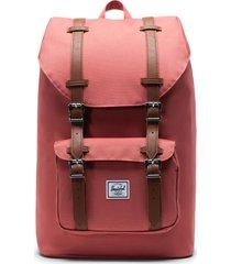 herschel supply co. little america - mid volume backpack - orange