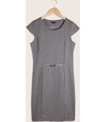 vestido estampado corto-10