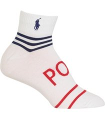 polo ralph lauren women's stripe ankle socks