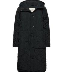 daisy jacket gevoerde lange jas zwart odd molly