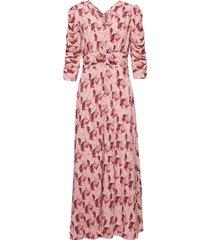pre spring rouch dress maxiklänning festklänning multi/mönstrad by ti mo