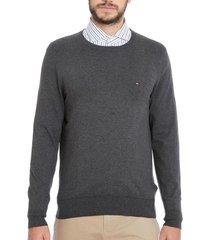 sweater regular classic azul tommy hilfiger