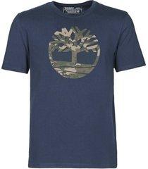 t-shirt korte mouw timberland ss kennebec river camo tree tee