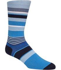 calvin klein men's multi-stripe crew socks