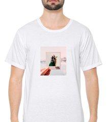 camiseta sandro clothing photograph branco - branco - masculino - dafiti
