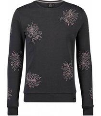 kultivate 1701041006 155 sweater wyoming dark grey grijs