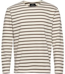 picasso tash long t-shirts long-sleeved crème mads nørgaard