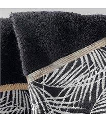 ręcznik kąpielowy amanda czarny 150x90 cm