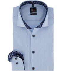 olymp shirt level 5 lichtblauw mouwlengte 7