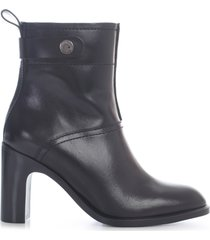 see by chloé liz ankle boots w/belt