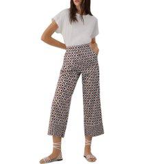 marella musico printed poplin pants