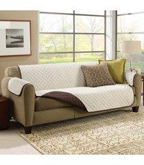funda doble faz de 3 puestos para proteger su sofá couchcoat