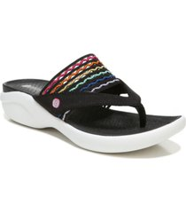bzees cabana washable thong sandals women's shoes