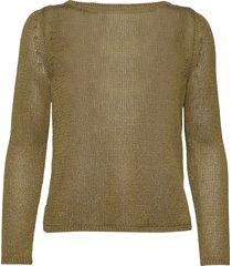 linen-blend boat-neck sweater stickad tröja grön banana republic